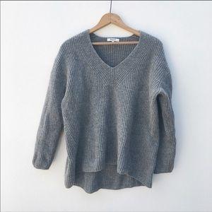 Madewell merino wool Gray Sweater size medium